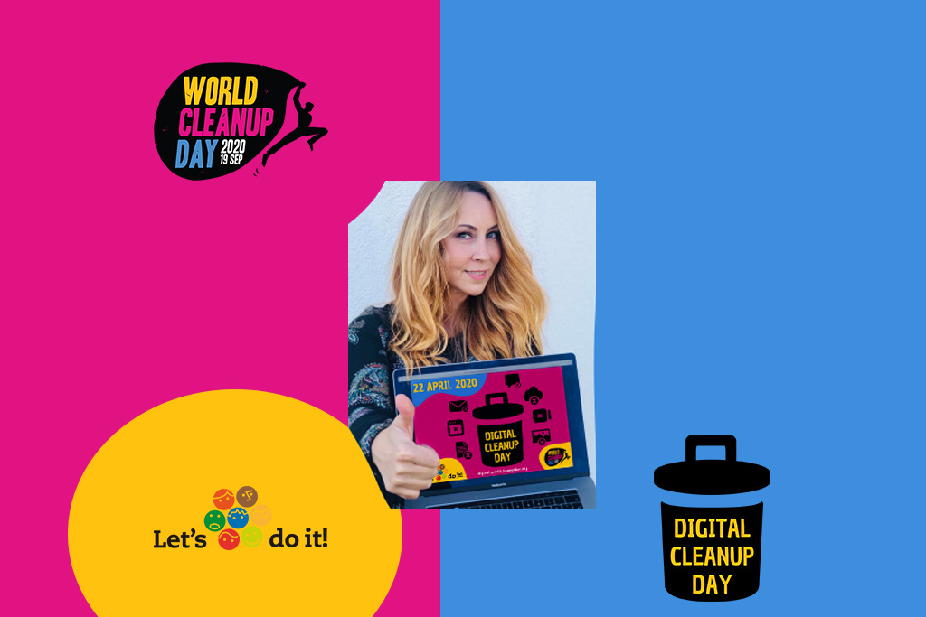 Digital Cleanup Day - https://digital.worldcleanupday.org/