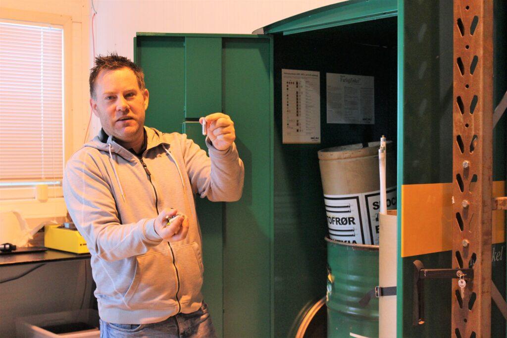 Kjell-Arvid Polsrød, Salgsrådgiver, gjenvinning og miljø ved Ragn-Sells AS, Telemark/Vestfold