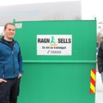 Stian Gjersvik, Production Manager CHG-MERIDIAN Skien & Kjell-Arvid Polsrød, salgsrådgiver, gjenvinning og miljø ved Ragn-Sells AS Vestfold & Telemark.